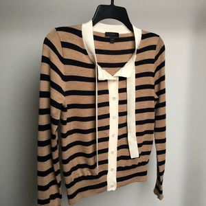 J. Crew Striped Cardigan
